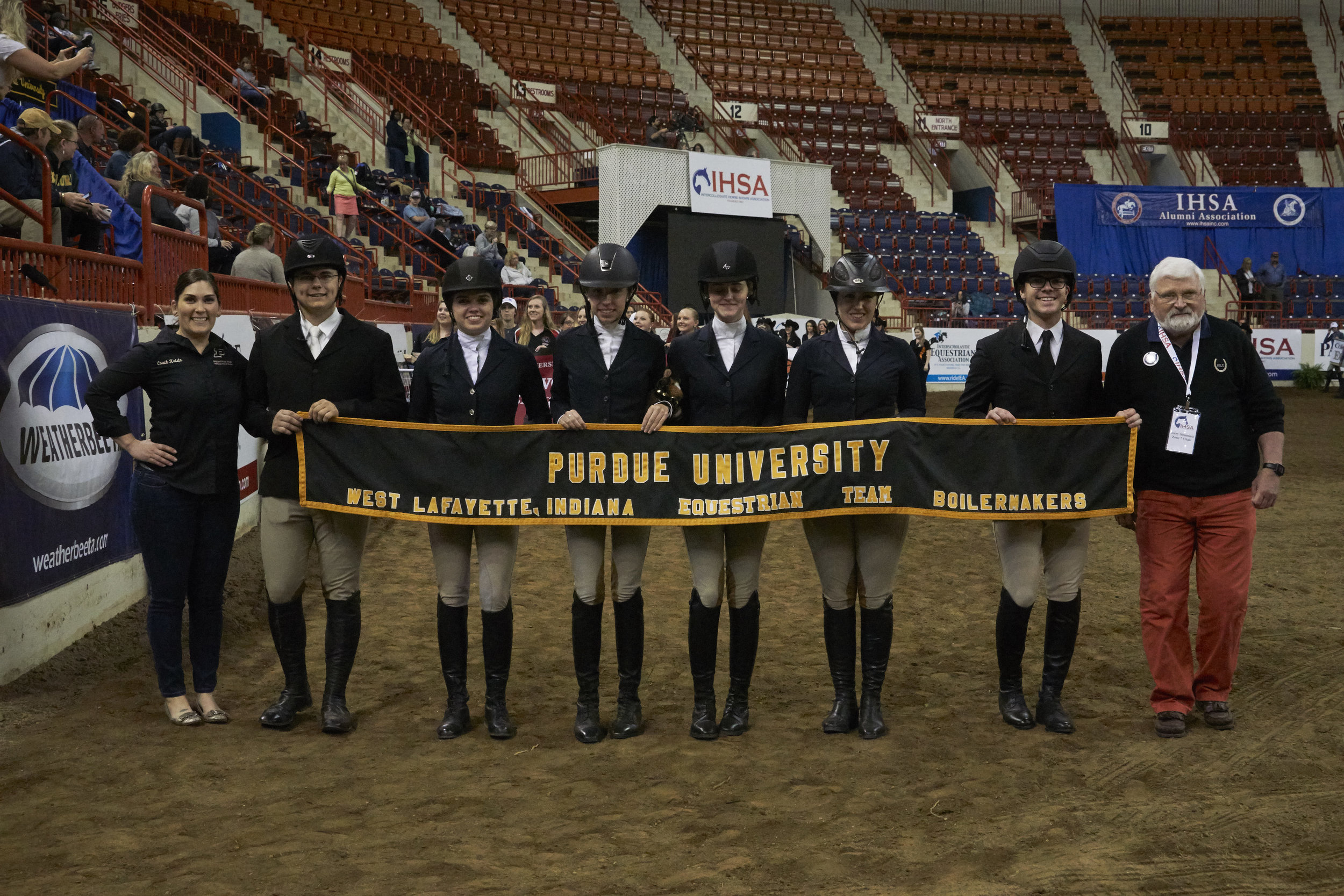 Purdue University is one of over 400 colleges and universities with IHSA teams  in the U.S. and Canada. Photo by Lisa Giris