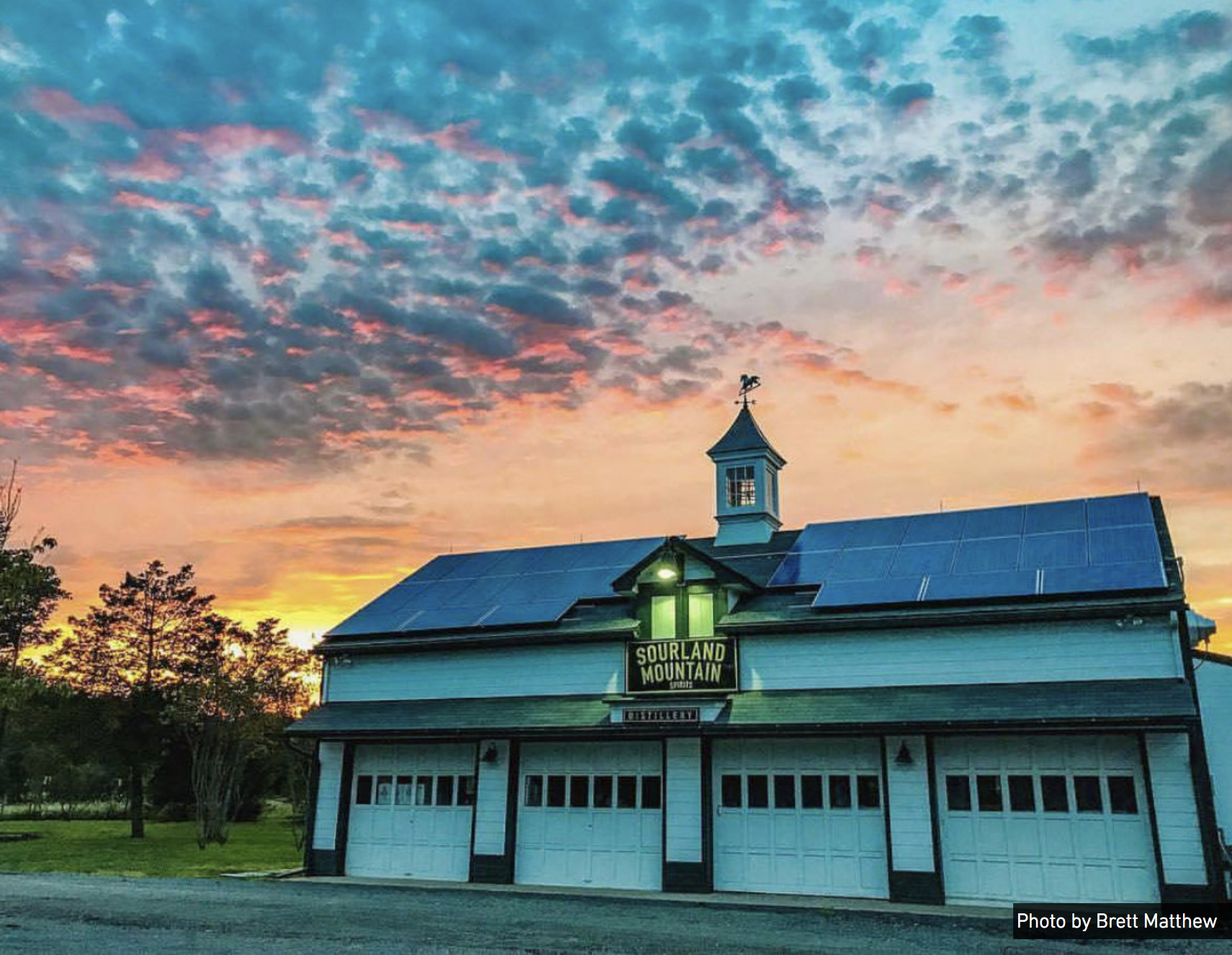 Sourland Mountain Spirits is located on the 800-acre Double Brook Farm in Hopewell, New Jersey.