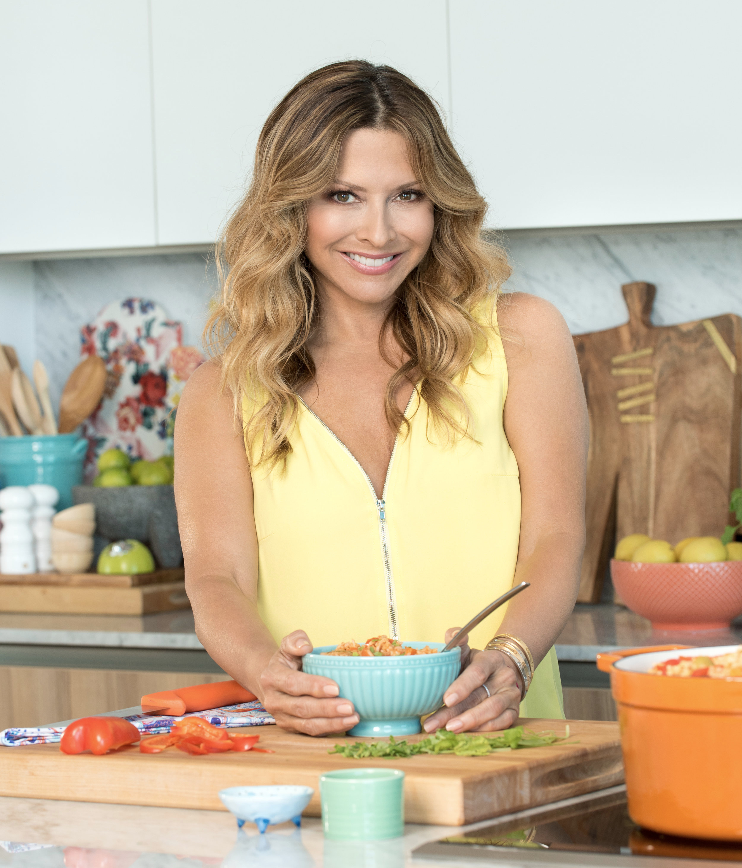 Celebrity chef Ingrid Hoffmann.