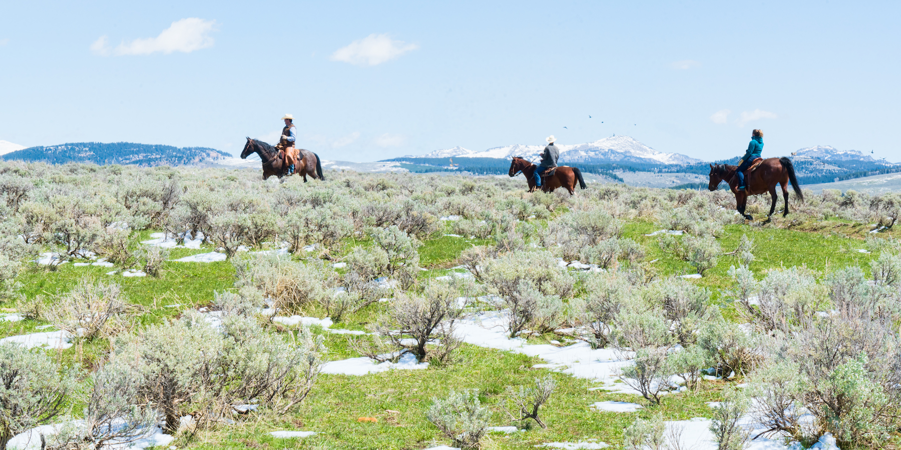 Visitors experience the spirit of the American West and five-star accommodations at Red Reflet Ranch.