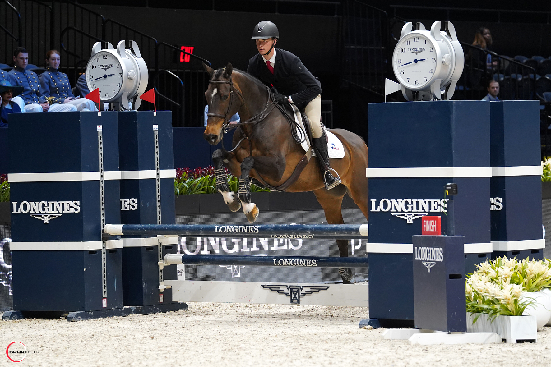 Michael Golinowski and Orion, provided by Orion Training Stable. Photo by Sportfot