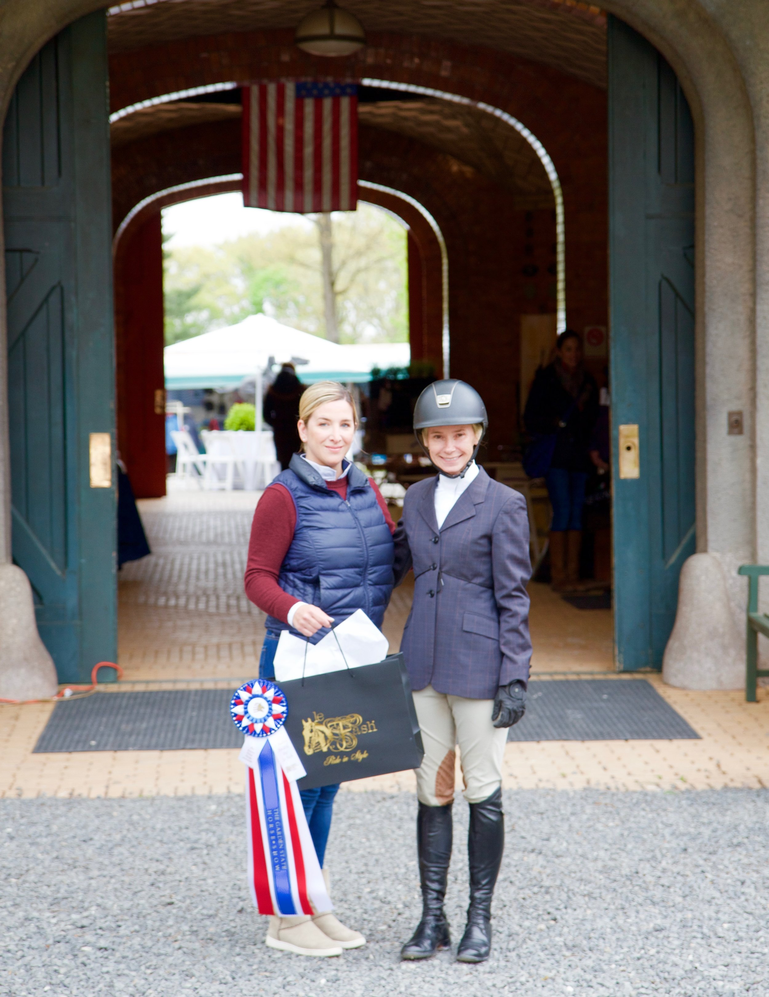 Style of Riding award winner Valerie Primavera with Le Fash owner Arianna Vestino.