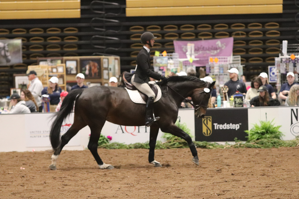 Michael Andrade competing in the Individual Open Flat class. Photo by alcookphoto.com