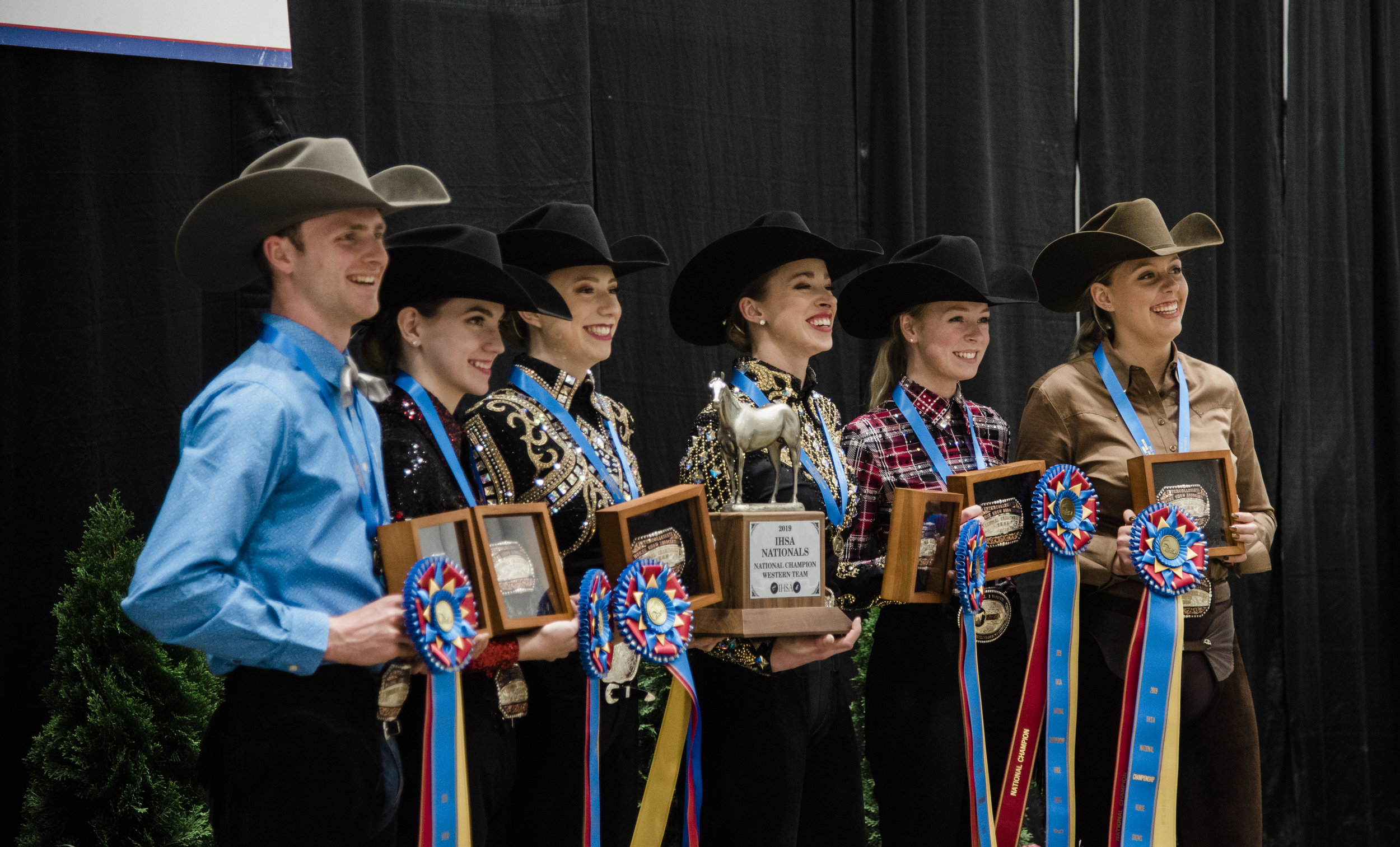 The AQHA National Champion University of Findlay team. Photo by EQ Media