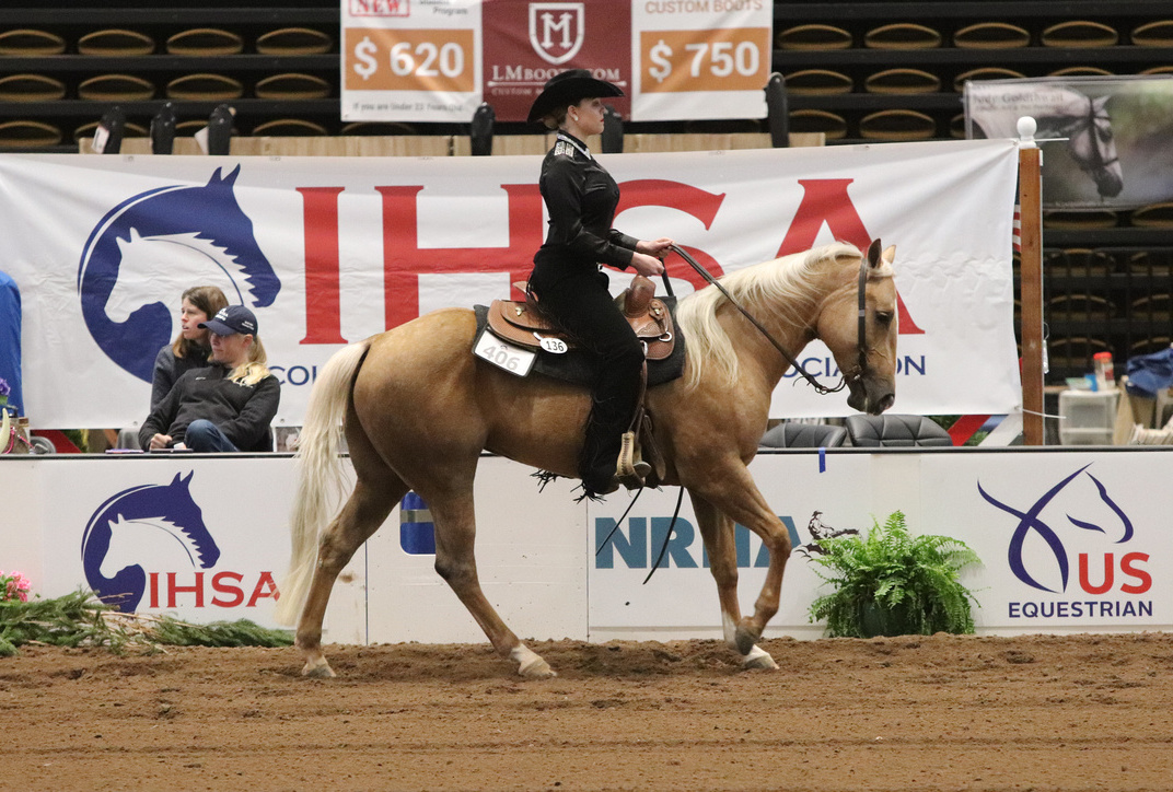Krista Schoenfelder and Honey owned by the University of Findlay. Photo by alcookphoto.com