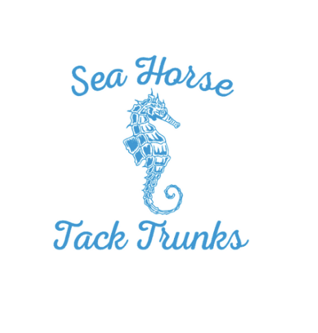 - The winner of the $5,000 USHJA National Hunter Derby, sponsored by Eastern Hay, will receive a new tack trunk from Sea Horse Tack Trunks and all ribbon winners will receive a Sea Horse Tack Trunk prize. Based in Farmingdale, New Jersey, Sea Horse Tack Trunks are the producers of high-quality custom-made tack trunks and equestrian products. Find them on here on Facebook and Etsy here.