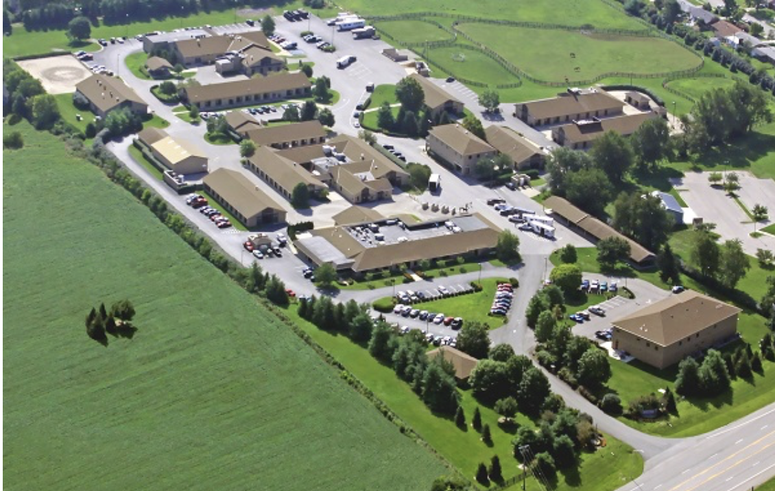The Rood & Riddle Equine Hospital campus in Lexington, Kentucky. Photo courtesy of Rood & Riddle Equine Hospital