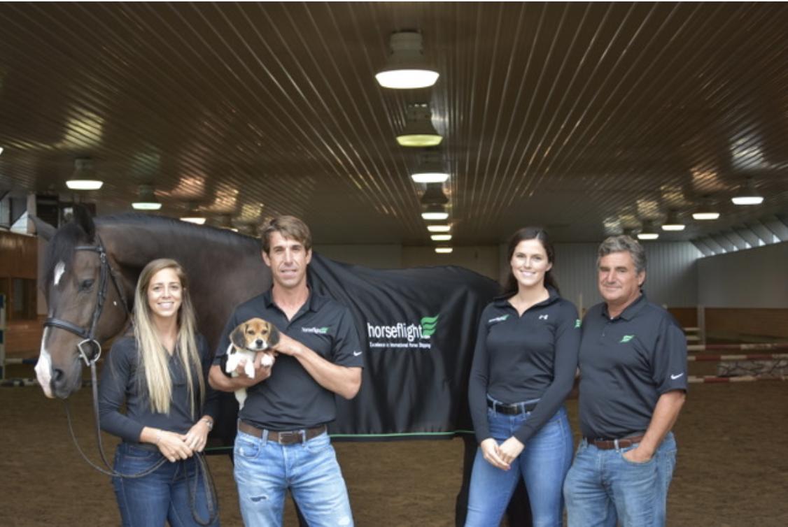 The Horseflight team includes Nicole Judd, Seth Vallhonrat, Devon Kaminsky and Emil Spadone. Photo courtesy of Horseflight