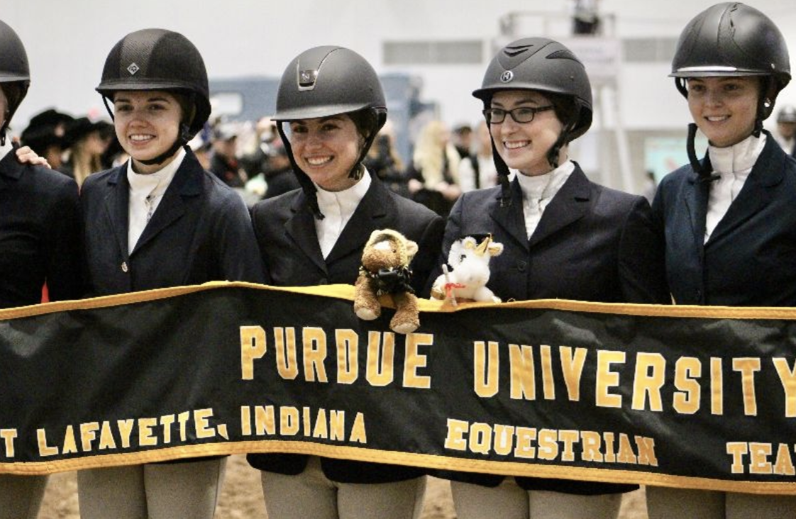 The Purdue team at 2019 Nationals. Photo by Nicole Sullivan