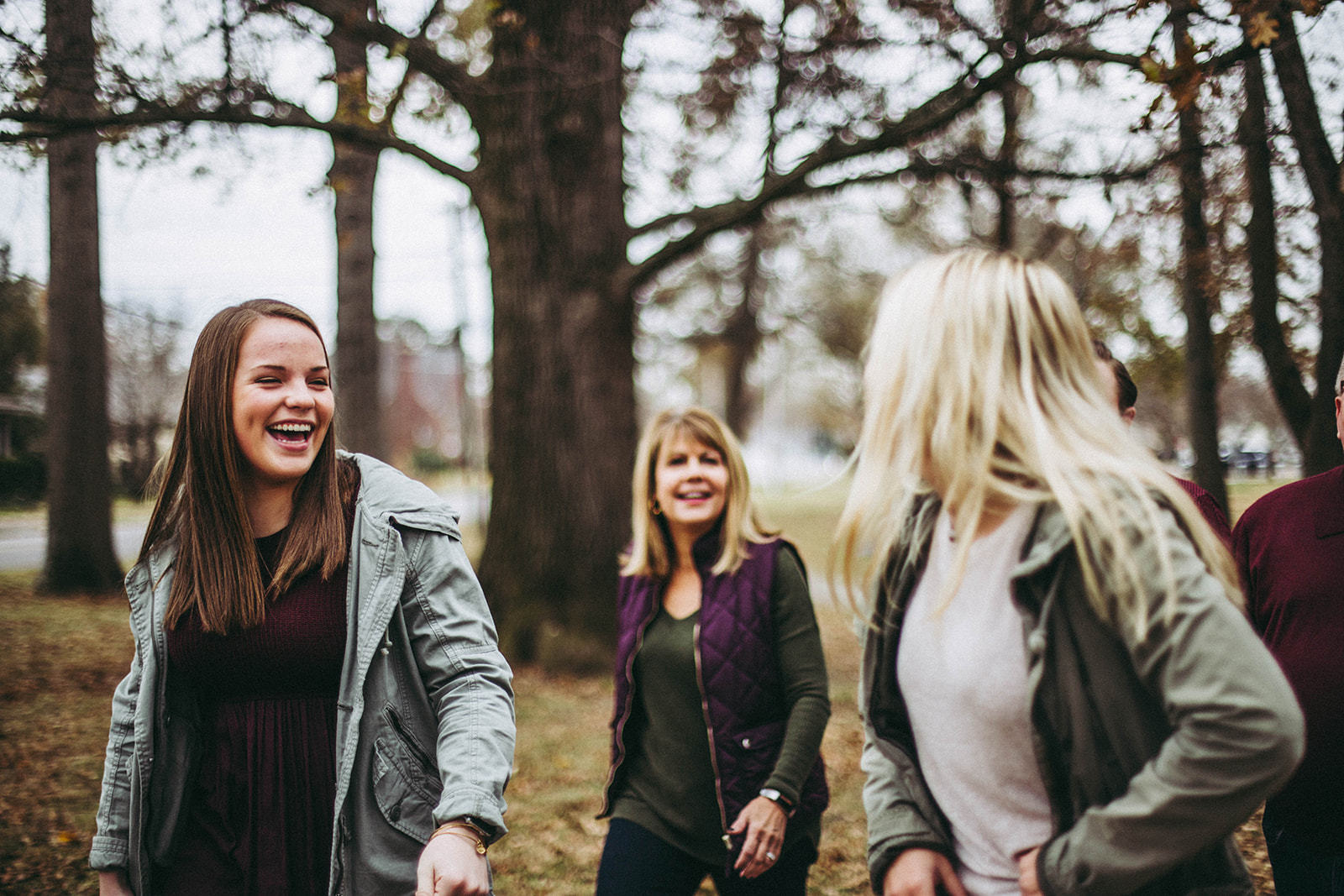 Family photography session in Columbus, Indiana