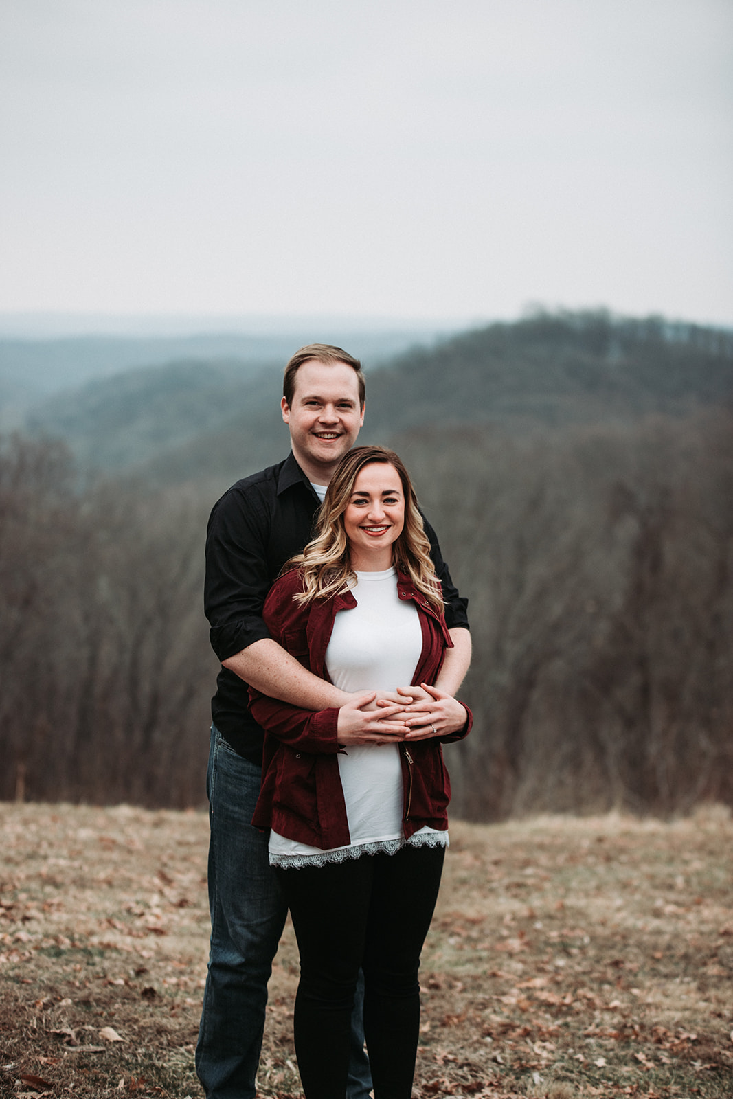 Brown County State Park Winter Engagement Session-2.jpg