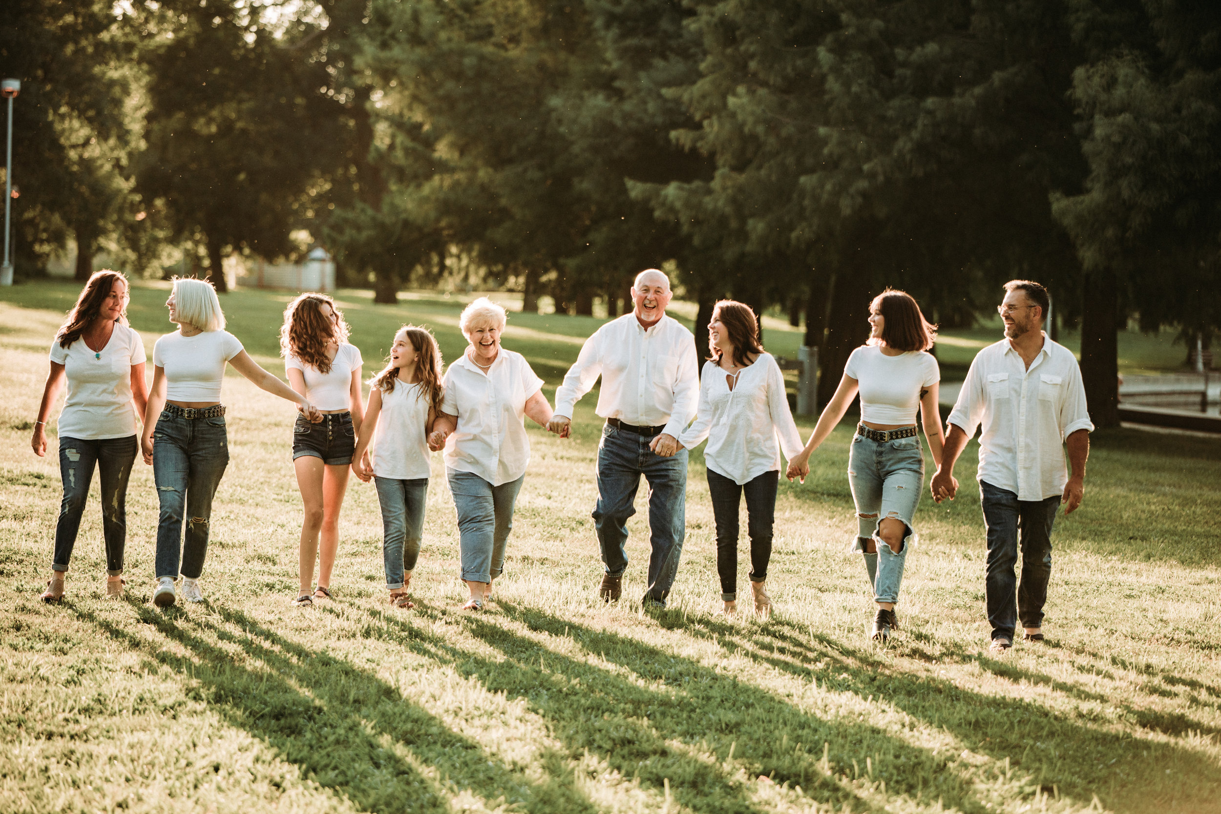 Columbus, Indiana Summer Family Lifestyle Photography