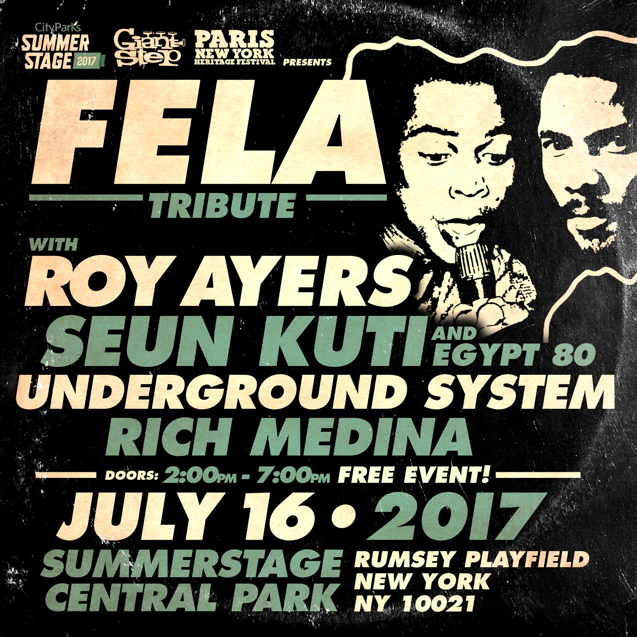 Summerstage Central Park 7.16.17