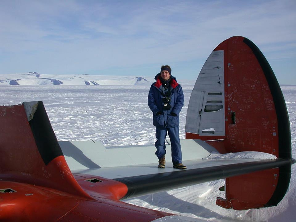 Matthew McArthur in the harshest aviation environment on the Planet Earth.