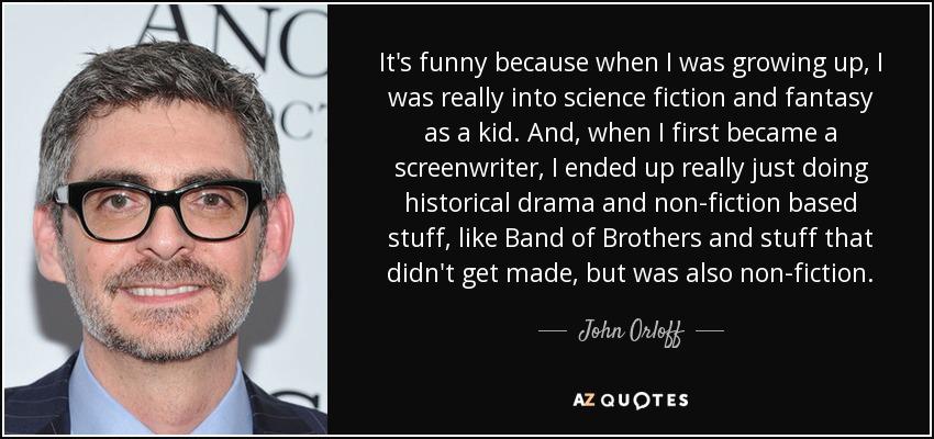 Screenwriter John Orloff