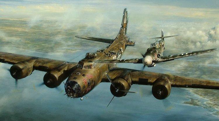 """Episode #65. WWII B-17 """"Lazy Baby"""" Survivor, Flight Engineer and Waist Gunner Bob Cinibulk."""