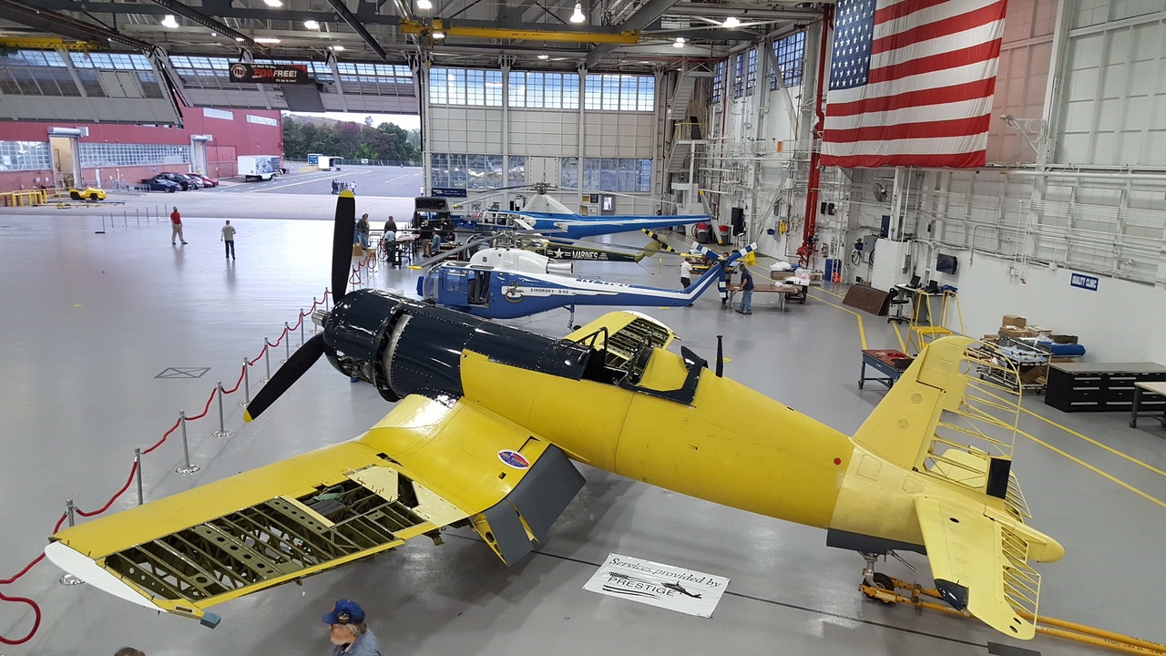 Visit the Connecticut Air and Space Center at https://www.ctairandspace.org/