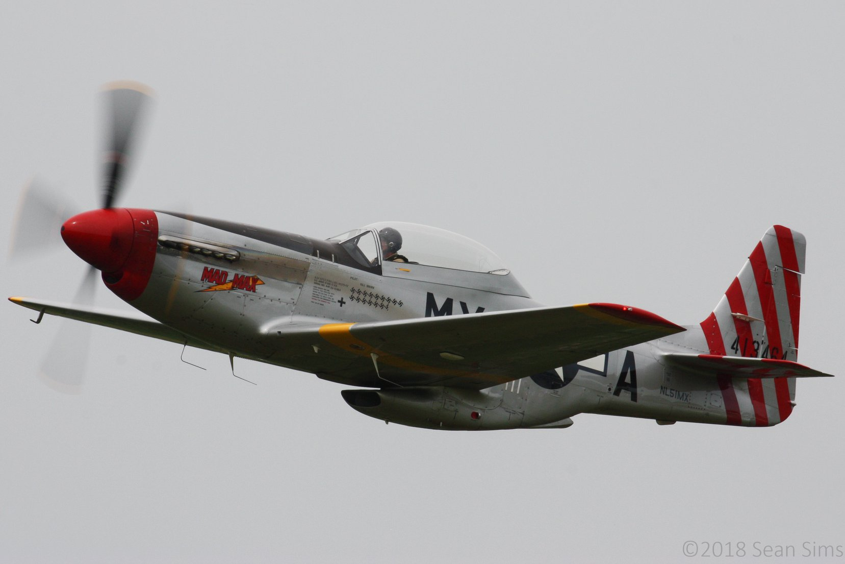 "Figure 1. P-51D ""Mad Max"" by Sean Sims"