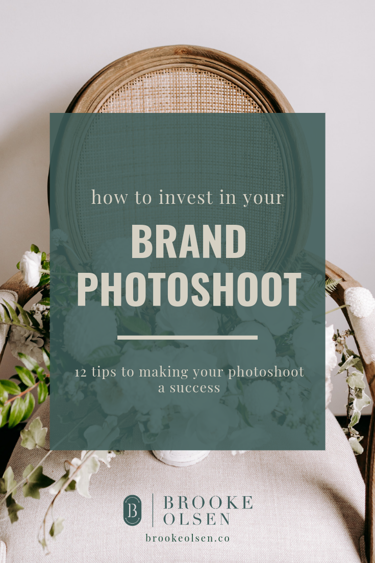How to Invest in your Brand Photoshoot   Brooke Olsen