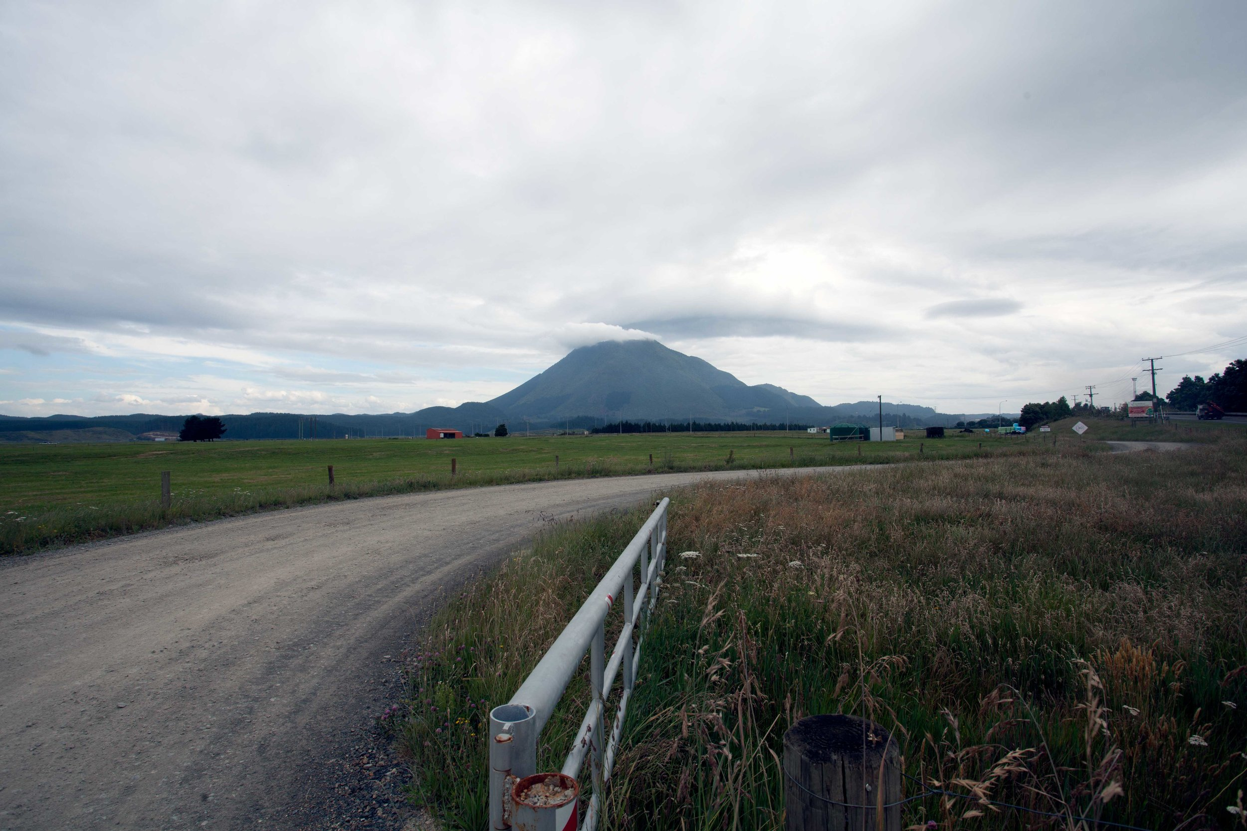 Putauaki/Mt Edgecumbe, from Kawerau, 2015*