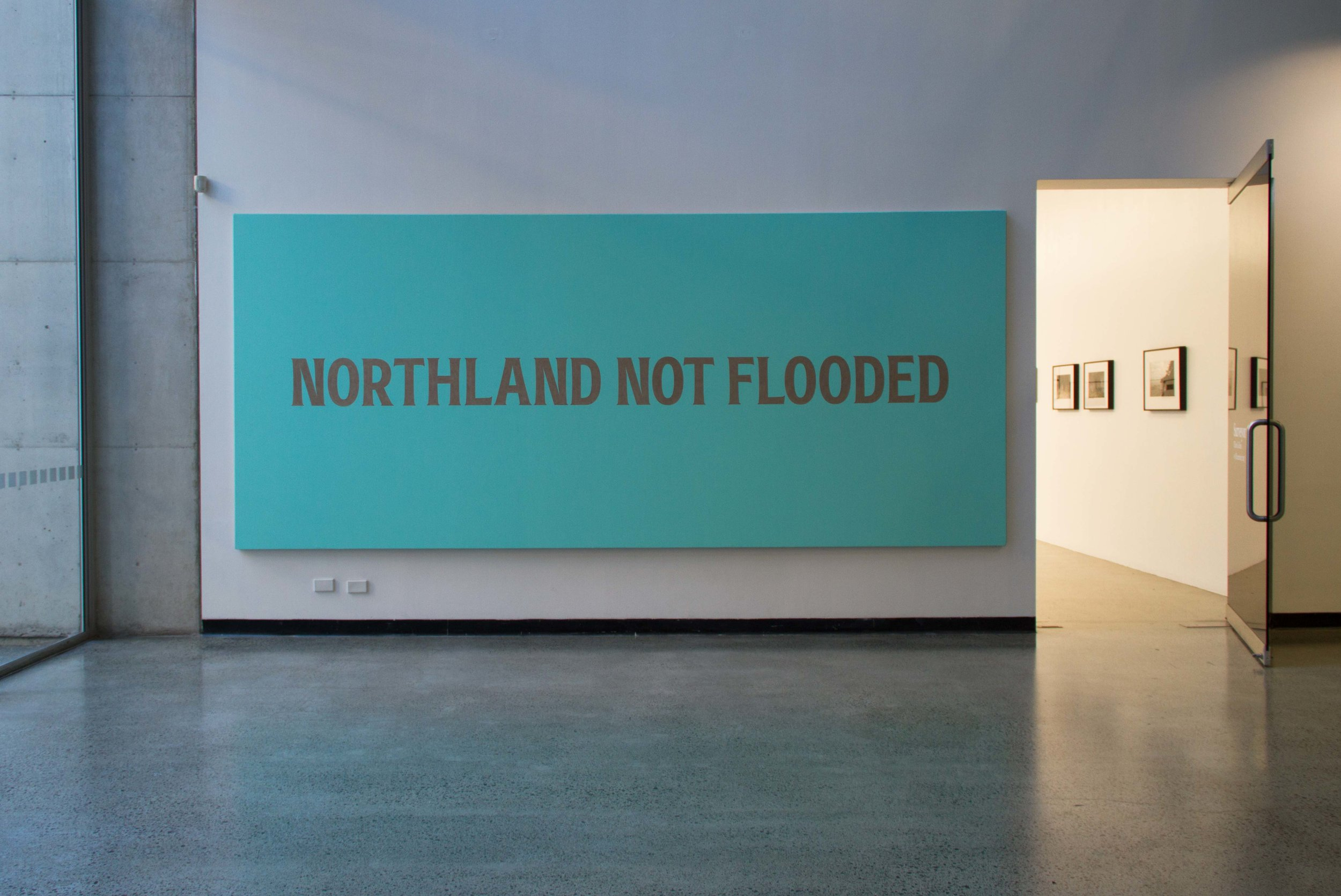 Northand Not Flooded, 2016, Acrylic on Linen