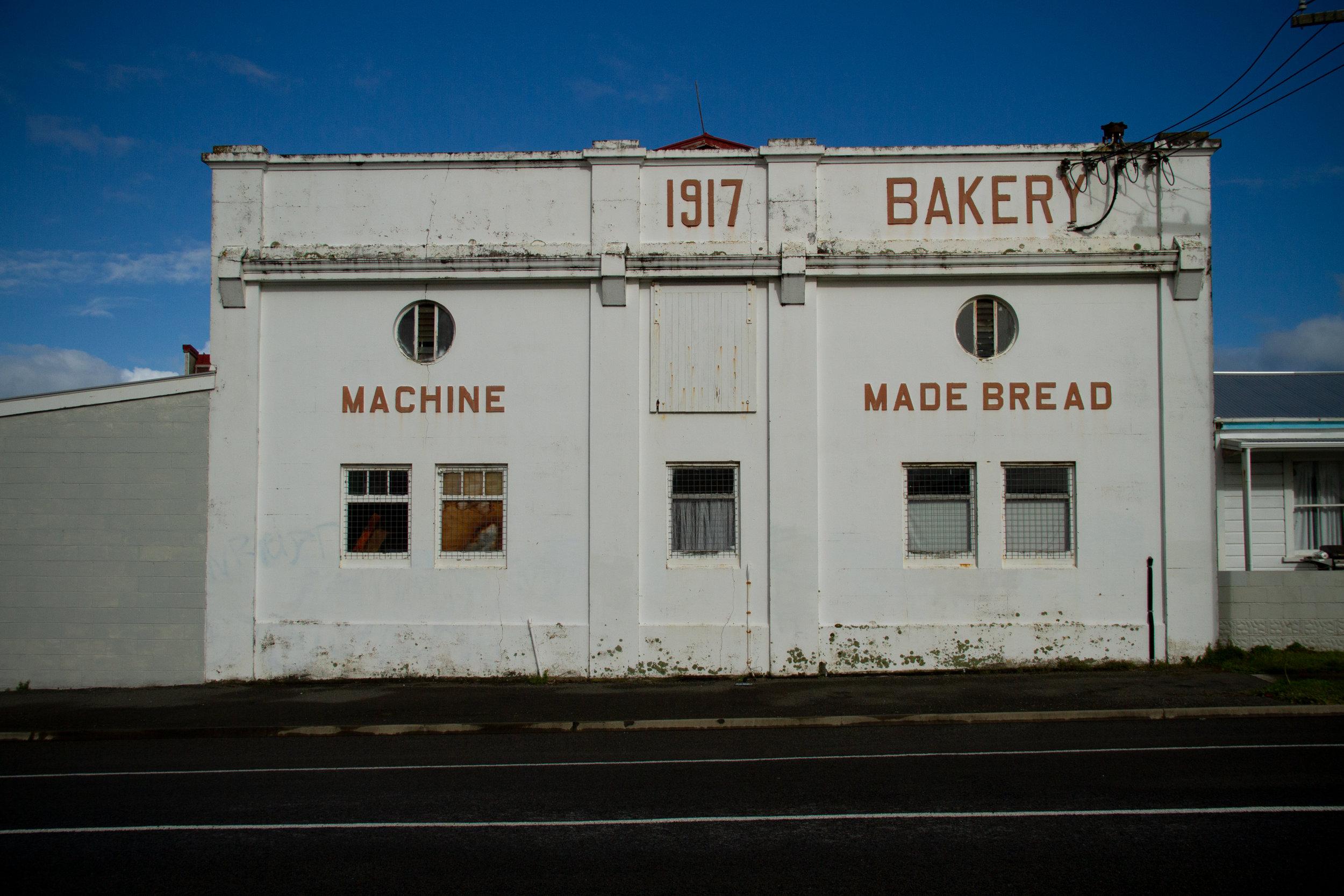 Hawera, Machine Made Bread, 1917-2019