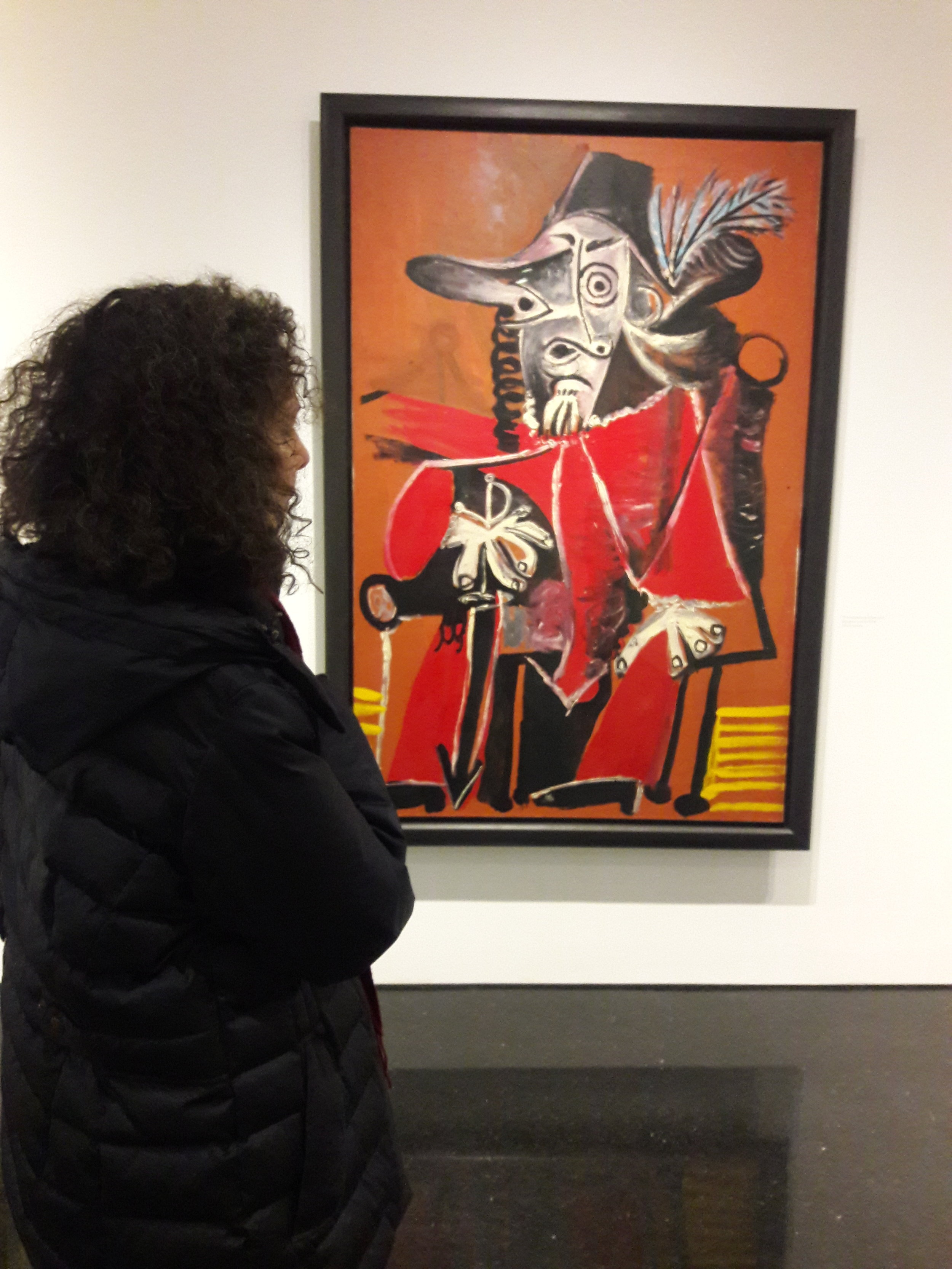 Discovering one of Picasso's Musketeers