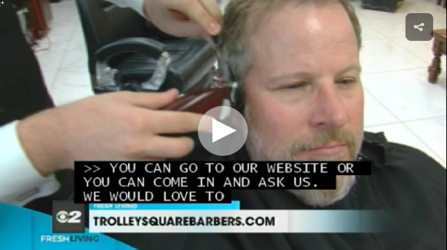 Casey Scott Visits the Trolley Square Barbers