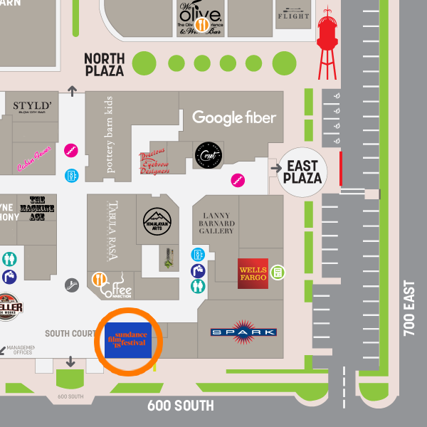 Located on the 600 South side of Trolley Square, across from Weller Book Works and Coffee Connection.