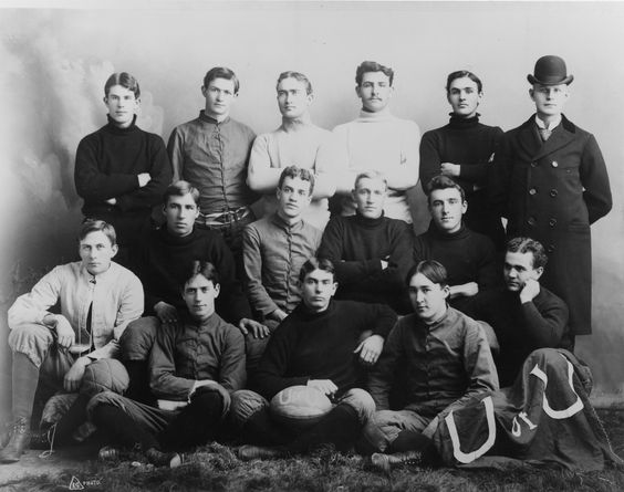 Early University of Utah football team 1894. Photo Credit: Special Collections, J. Willard Marriott Library.