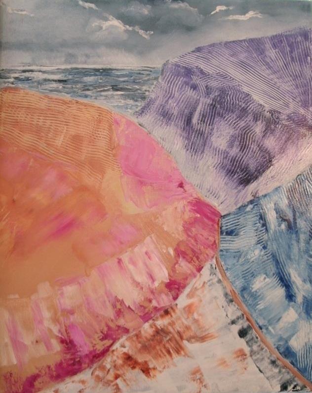 Moray Coast | Acrylic, SOLD