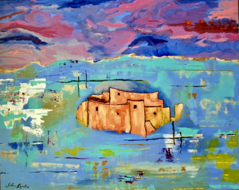 Montezuma's Castle | Acrylic, SOLD