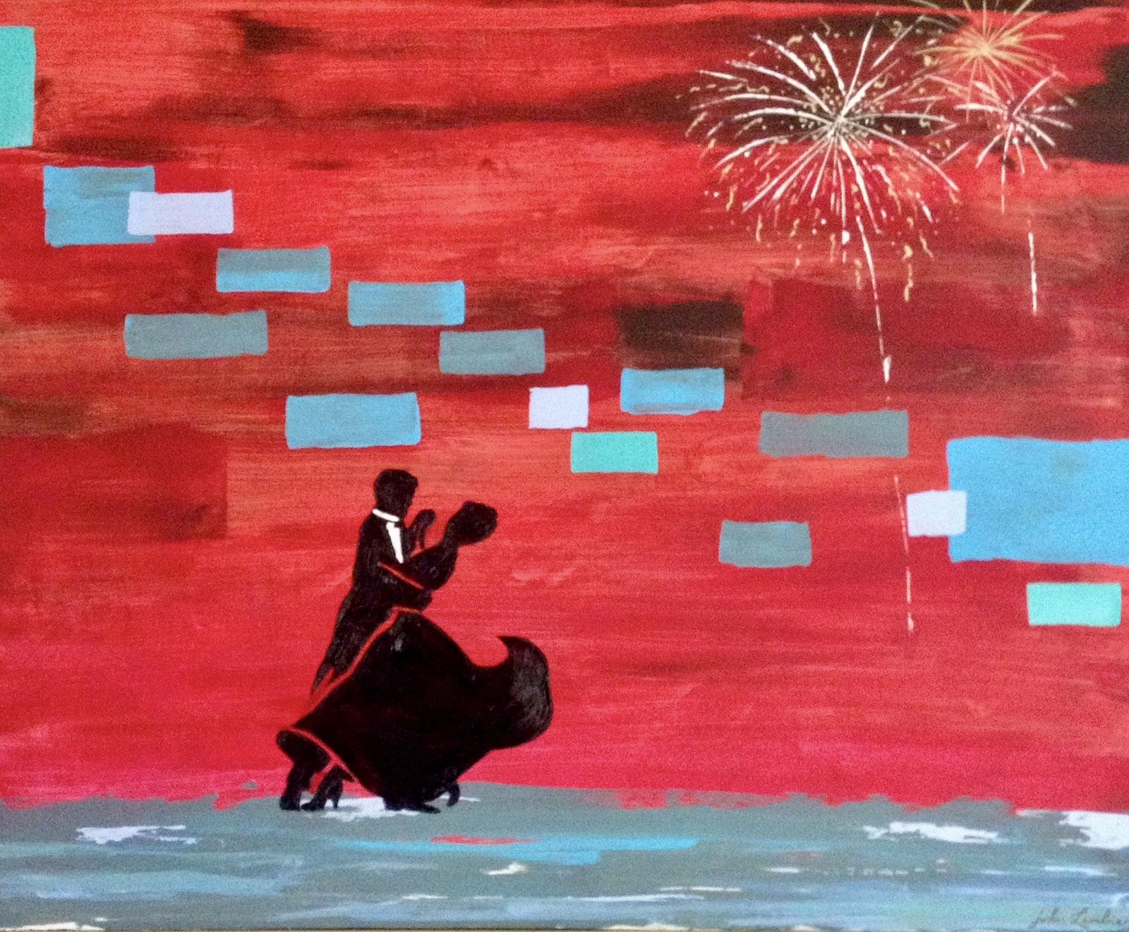 Celebration | Oil on Acrylic, SOLD