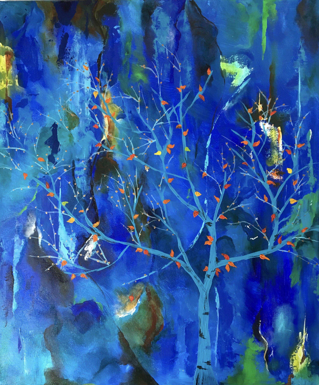 Seasons (Triptych 1) | Acrylic, SOLD