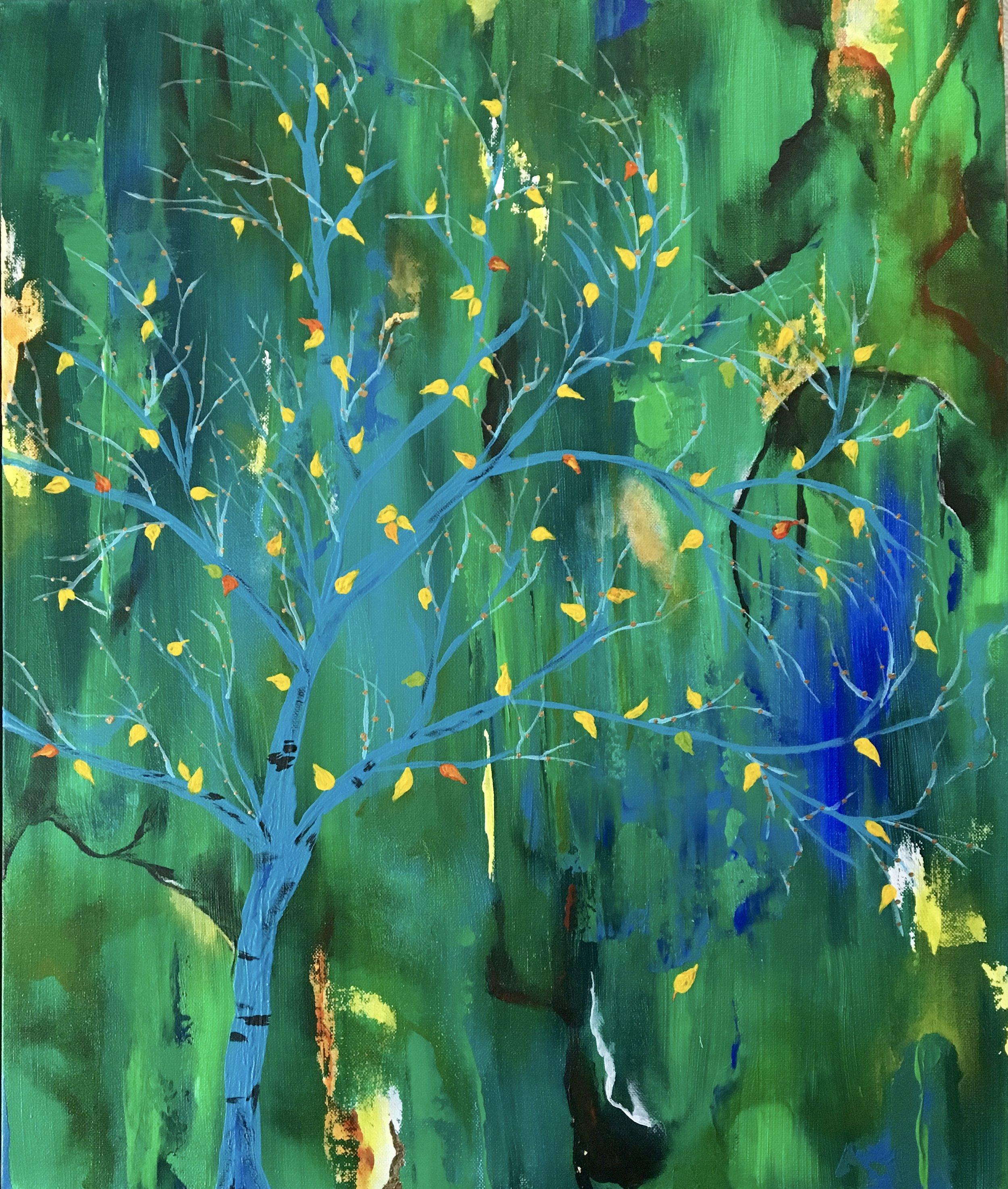 Seasons, (triptych 2) | Acrylic, SOLD