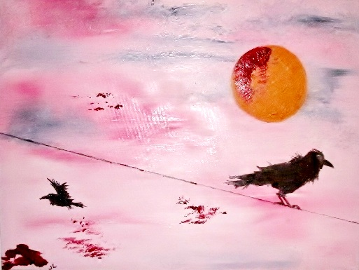 Blood on the Moon | Oil, SOLD