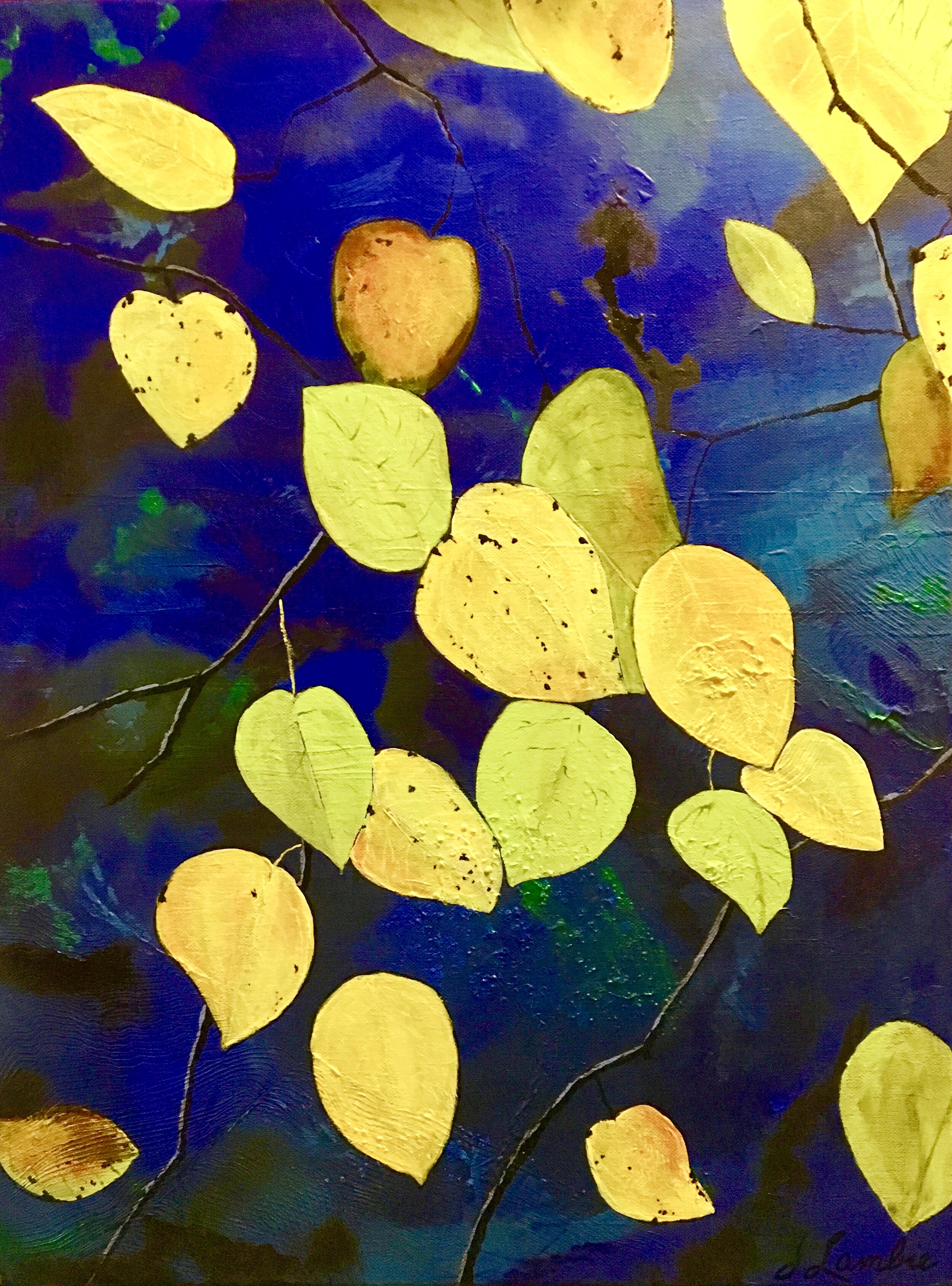 Nothing Gold Can Stay, Acrylic, SOLD