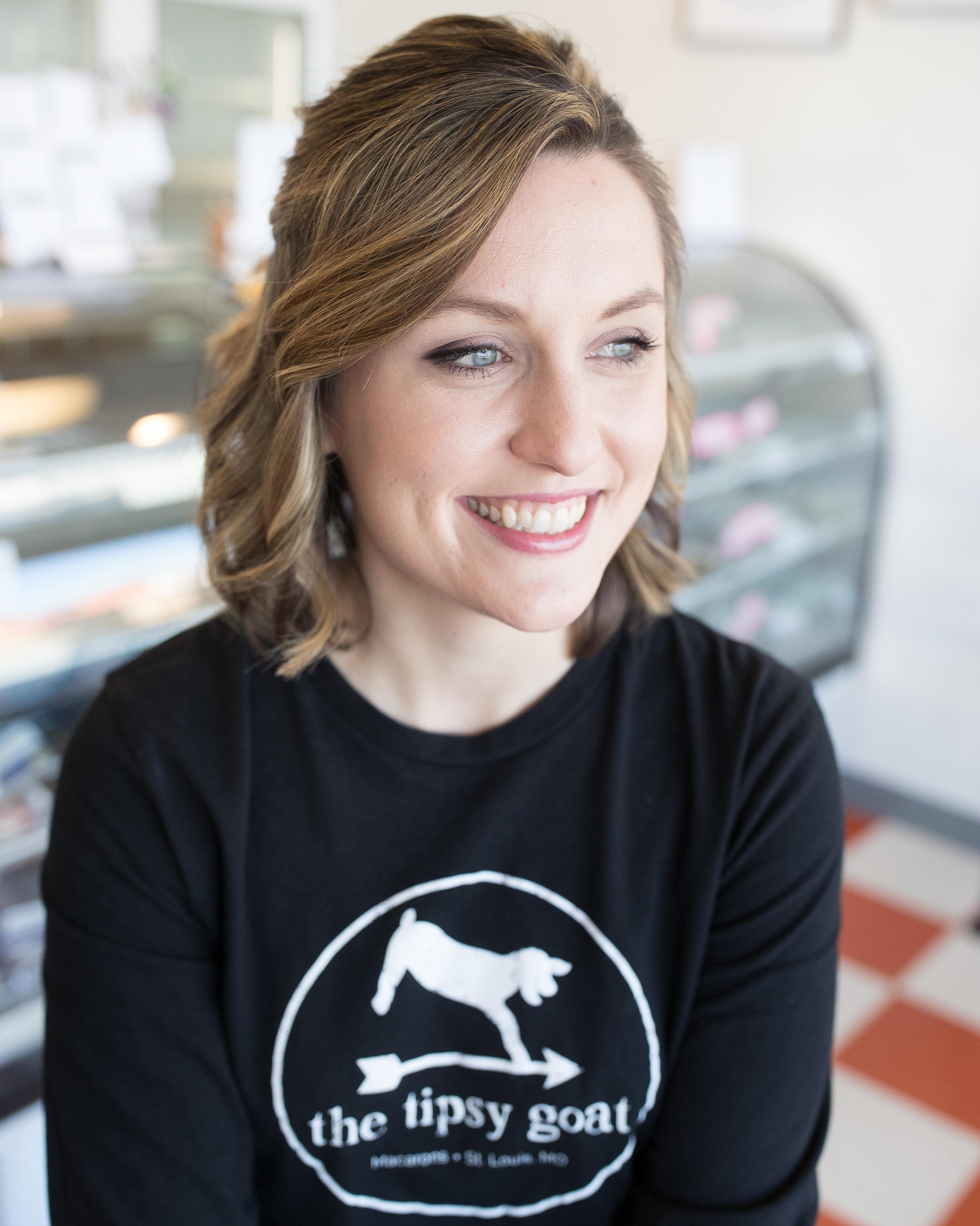 Mallory Stewart - Co-owner(314) 604-4522mallory@tipsygoatstl.com