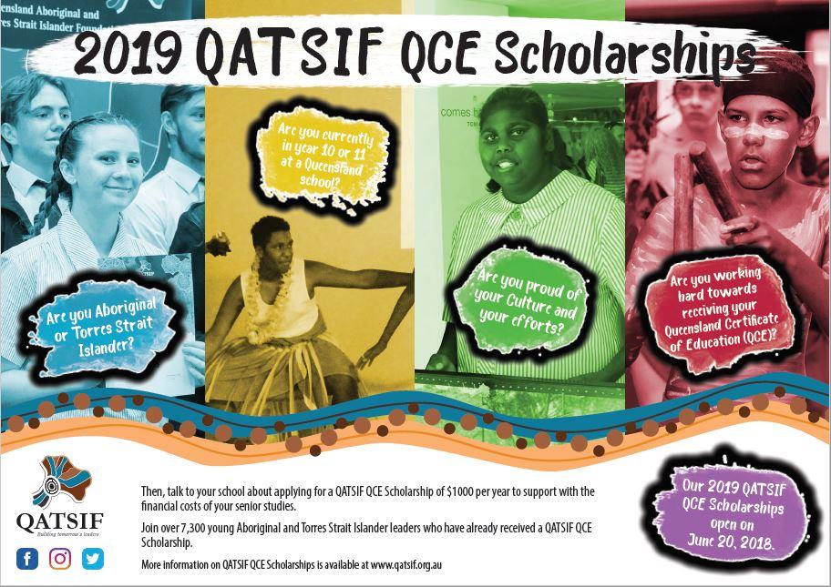2019 QATSIF Scholarship Poster
