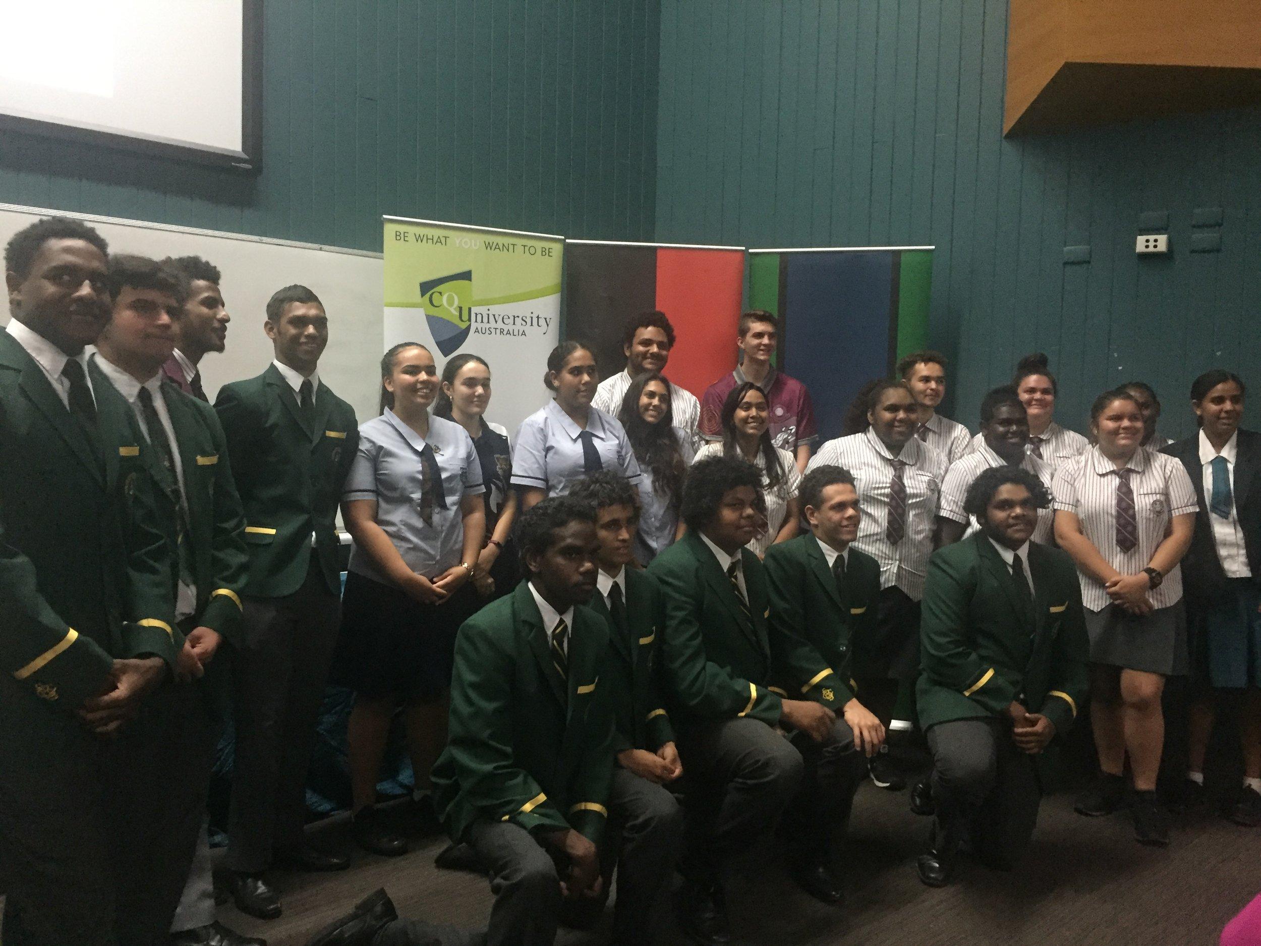 2018 Rockhampton QATSIF Graduates