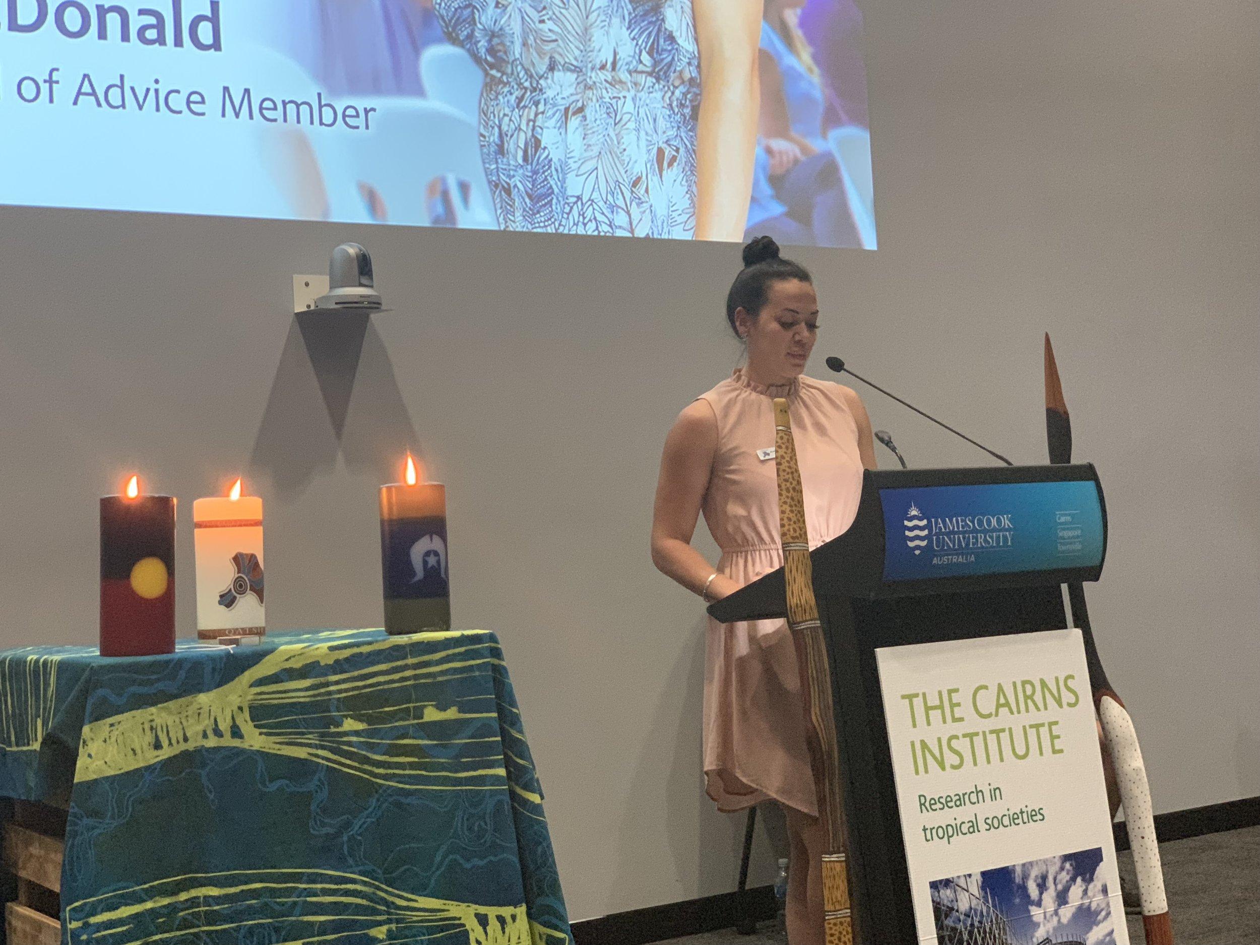 QATSIF Board Member Kellie McDonald