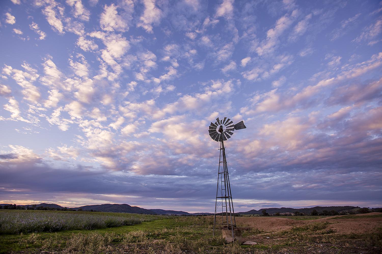 Mandagery Windmill - Eugowra Sunset