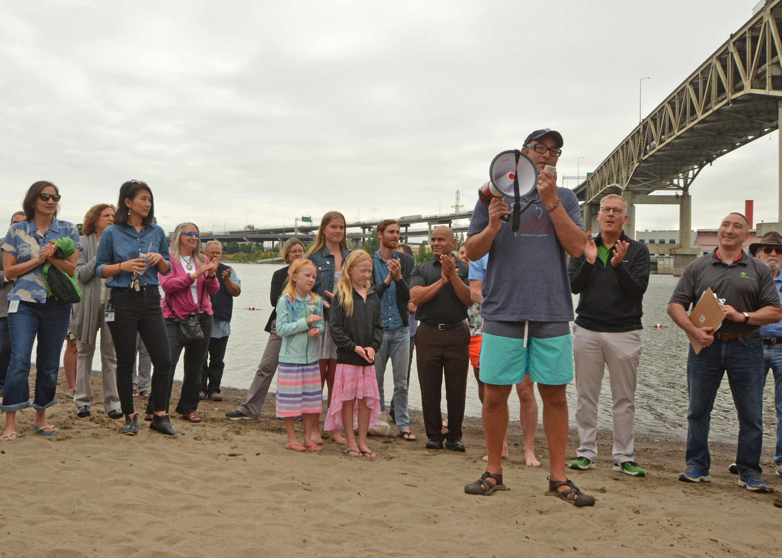 The Human Access Project's Willie Levenson gives the background on Poet's Beach and how it got its nickname.