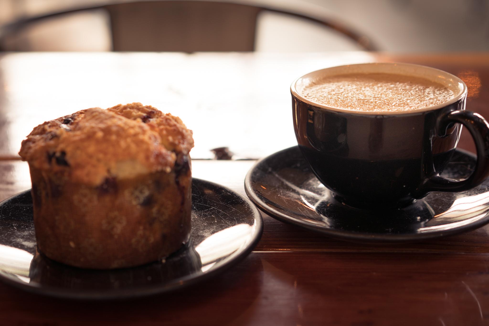 Breakfast at Taylor Lane Organic Coffee's flagship Coffee Bar at the Barlow.