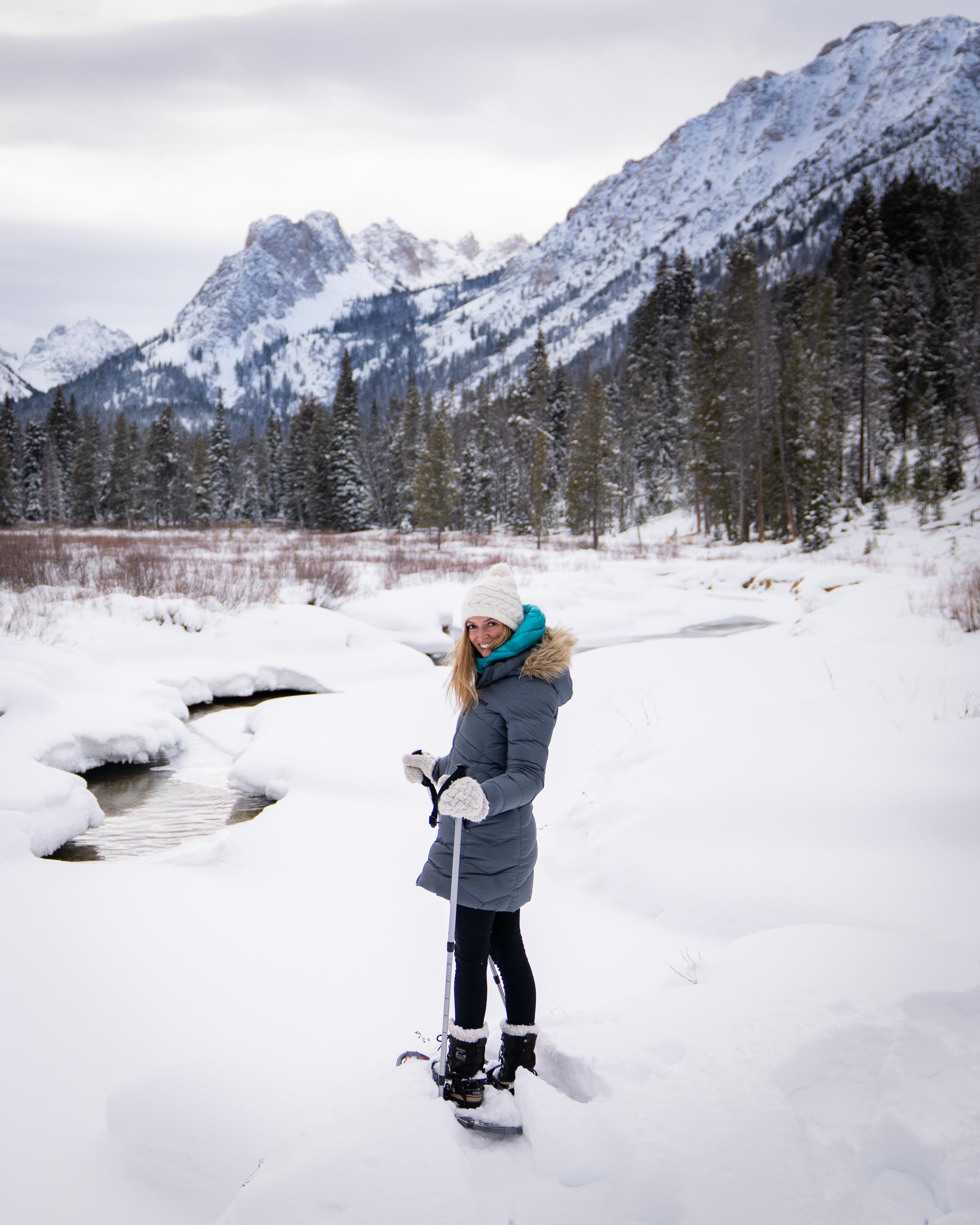 Sun Valley Snow Shoeing