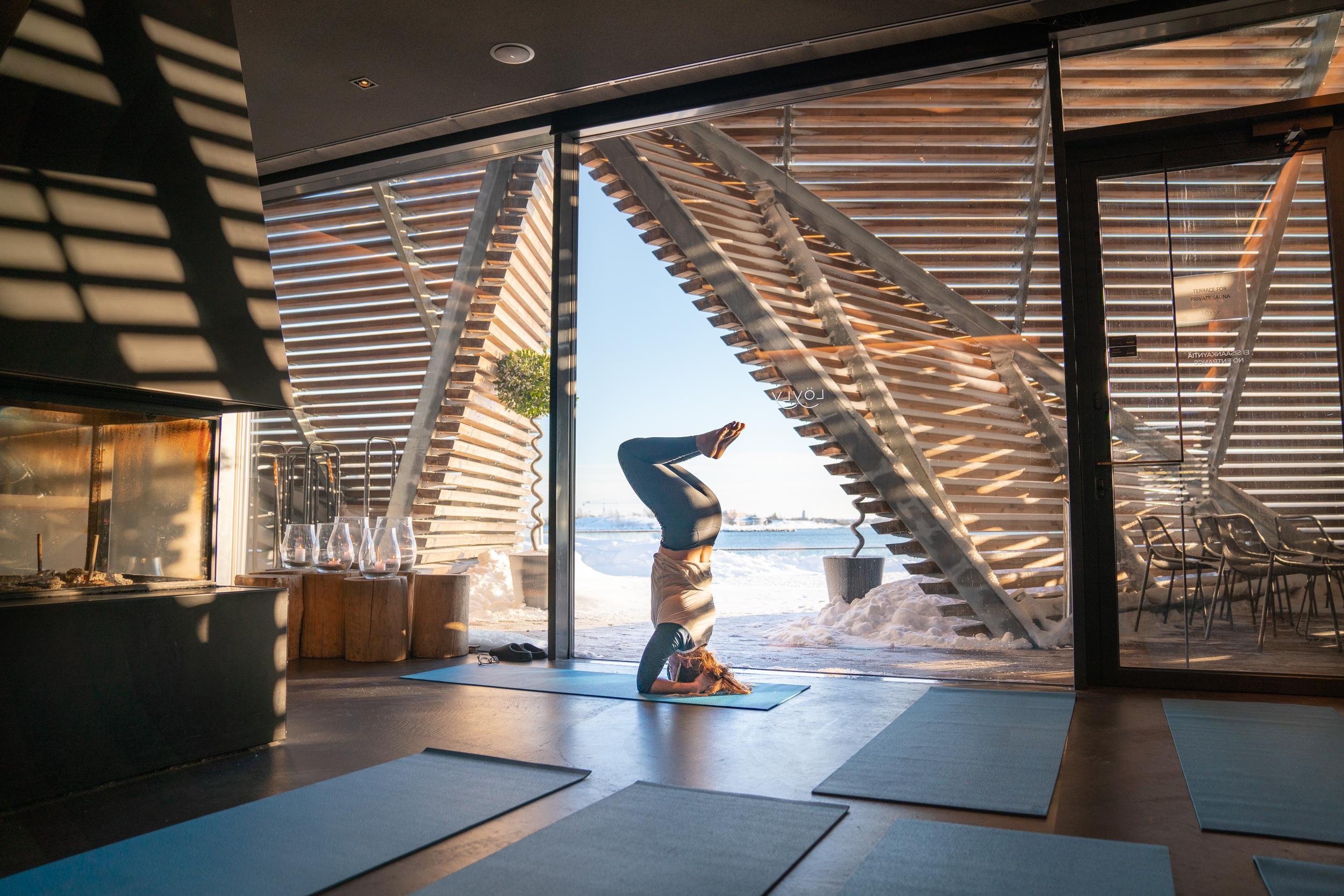 Yoga at Löyly Helsinki