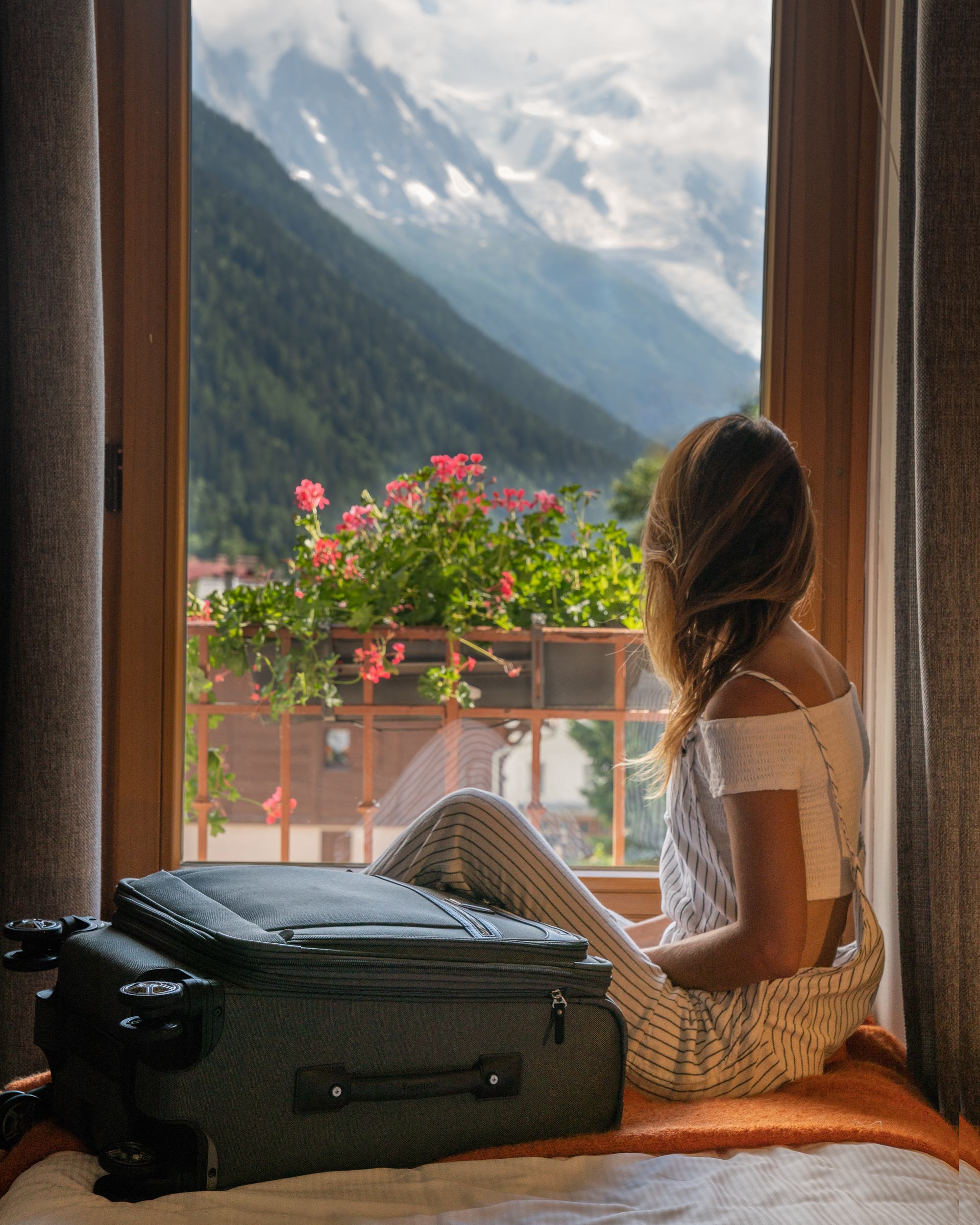 I was planning on continuing my travels through Europe after completing the Tour du Mont Blanc with my family. Luckily we were able to arrange to have our luggage shuttled between a few of the towns we knew we would be stopping at, so I didn't have to carry all my belonging on the trail.