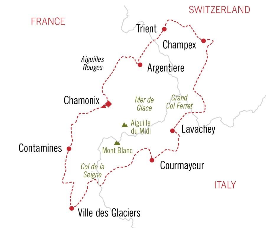 Tour+Du+Mont+Blanc+Itinerary
