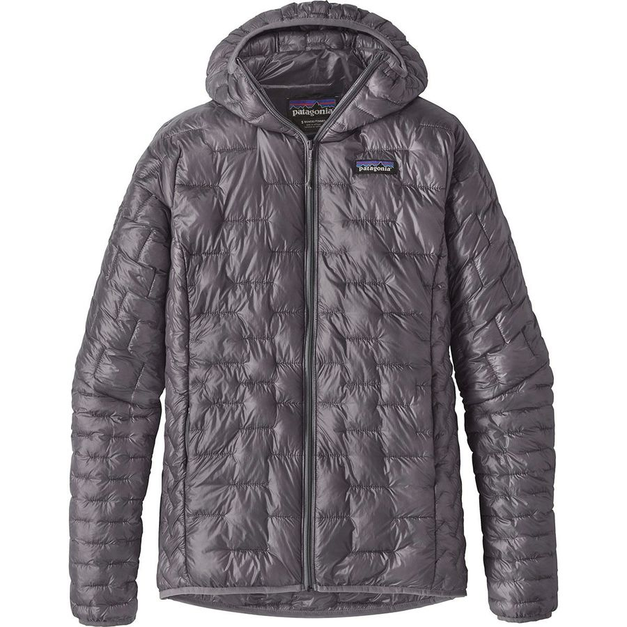 Insulation - It's hard to beat the warmth to weight ratio on Patagonia's Micro Puff Hooded Insulated Jacket. One of my favorite warm layers for travel because it packs down to almost nothing. I don't own the hooded version, but if I could go back and do it again I would probably opt for that.