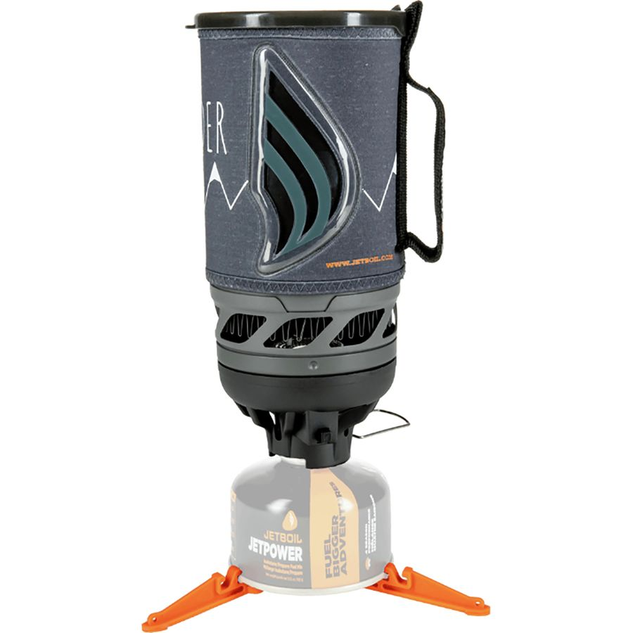 Stove - Jetboil Flash Stove - Small, durable, and fast. The Jetboil's all in one design makes it an easy choice for a convenient backcountry cook system. Jetboil's are designed to do exactly what the name promises: boil water quickly. The Jetboil MiniMo Stove is another very popular option if all you need to do is boil water for tea, coffee, and dehydrated meals. But I use my Jetboil to cook things like Top Ramen and Annie's Mac and Cheese, and the MiniMo isn't big enough for that.
